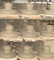 producing process for disc insulator