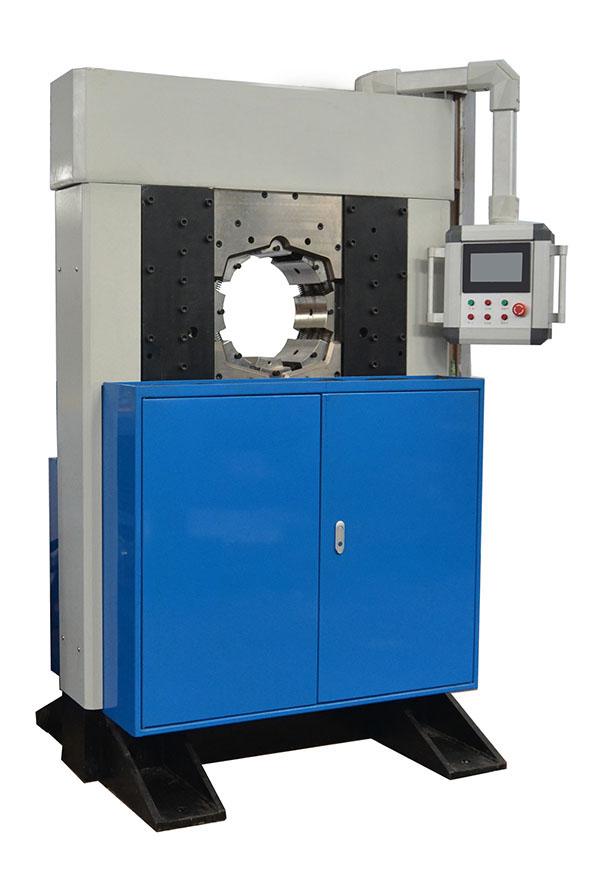 Insulator crimping machine 165