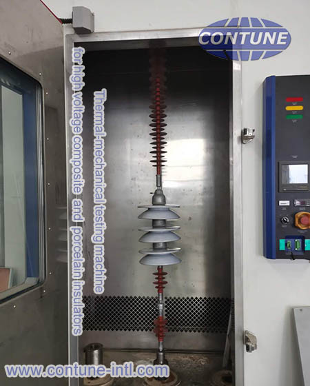 Thermal mechanical strength test for composite insulators and ceramic insulators
