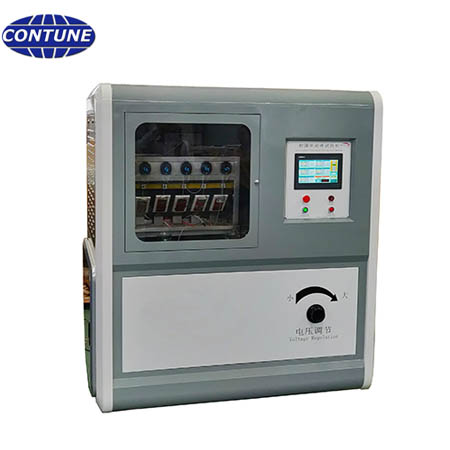 Tracking erosion testing machine for inspection of HTV silicon rubber of insulators