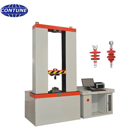 Tension & cantilever test machine for bending test and tensile test of OHTL insulators