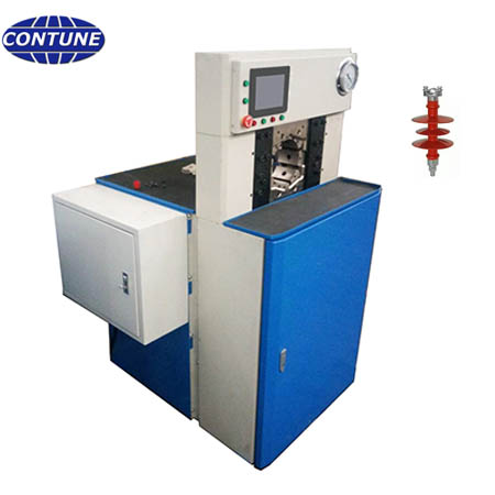 Crimping machine CTCPM140 for 33kV polymer insulators production