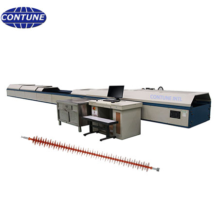 Horizontal tension testing machine